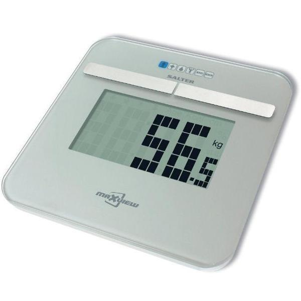 Salter Maxview Analyser Scale Silver