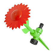 Sprinkler Spikes Sunflower Garden Watering Lawn