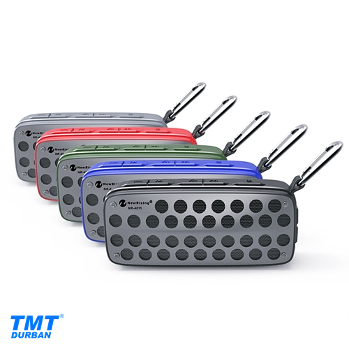 Outdoor Wireless Speaker IPX4 Waterproof Rating 5 Colors Available