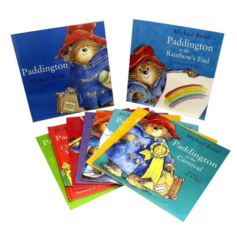 Paddington Bear 10 Book Set
