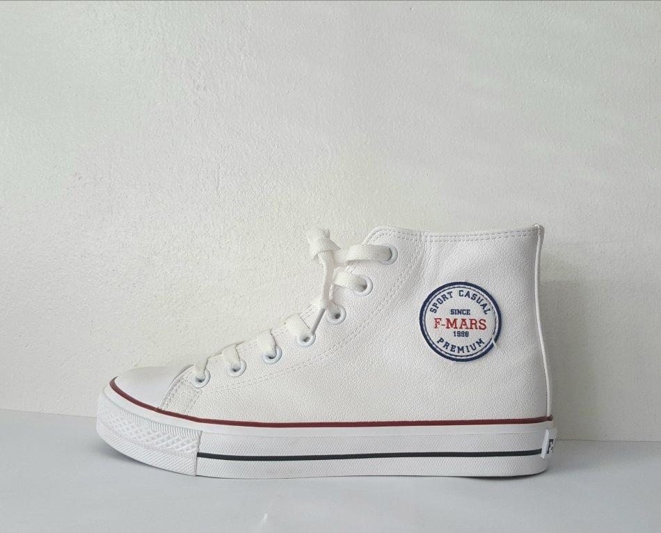 F- Mars Premium PU Leather Sneakers