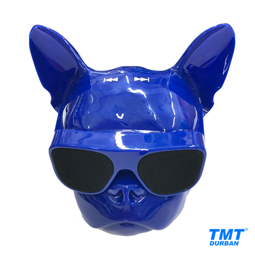 Bulldog Head Wireless Bluetooth Speaker Available in 5 Colours