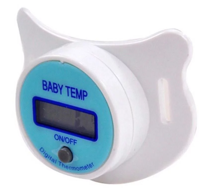 Digital LCD Baby Pacifier Thermometer