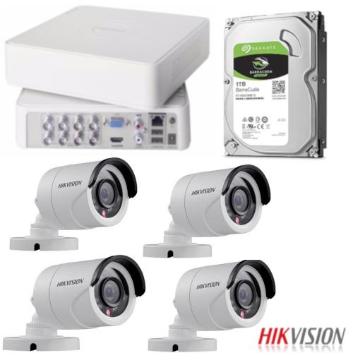 Hikvision Turbo HD DVR 8 Channel Surveillance Bundle