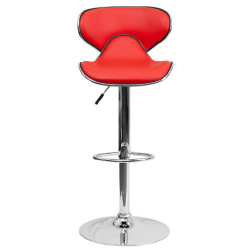 Modern Abs Swivel Dining Chair Bar Stool