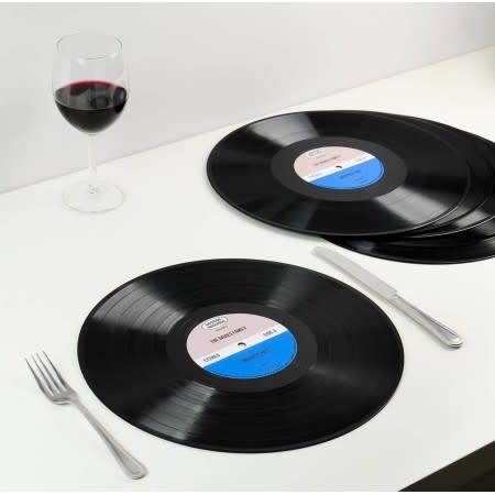 Vinyl Record Place Mat