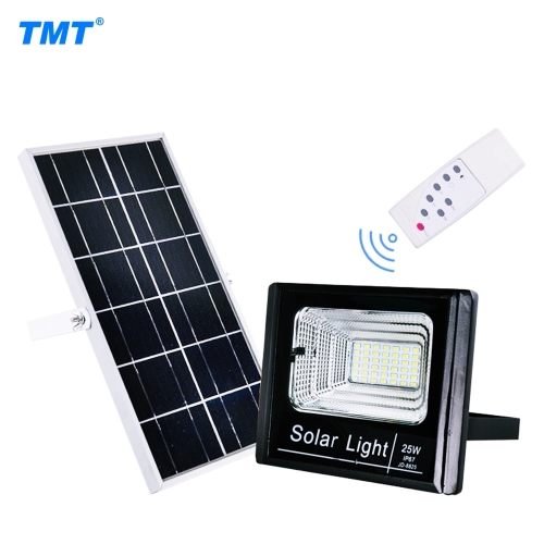 25W Ultra Bright Solar Powered Floodlight with Remote Control