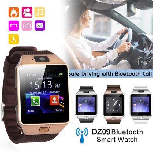 DZ09 Smart Watch - Takes Sim 4 Colours