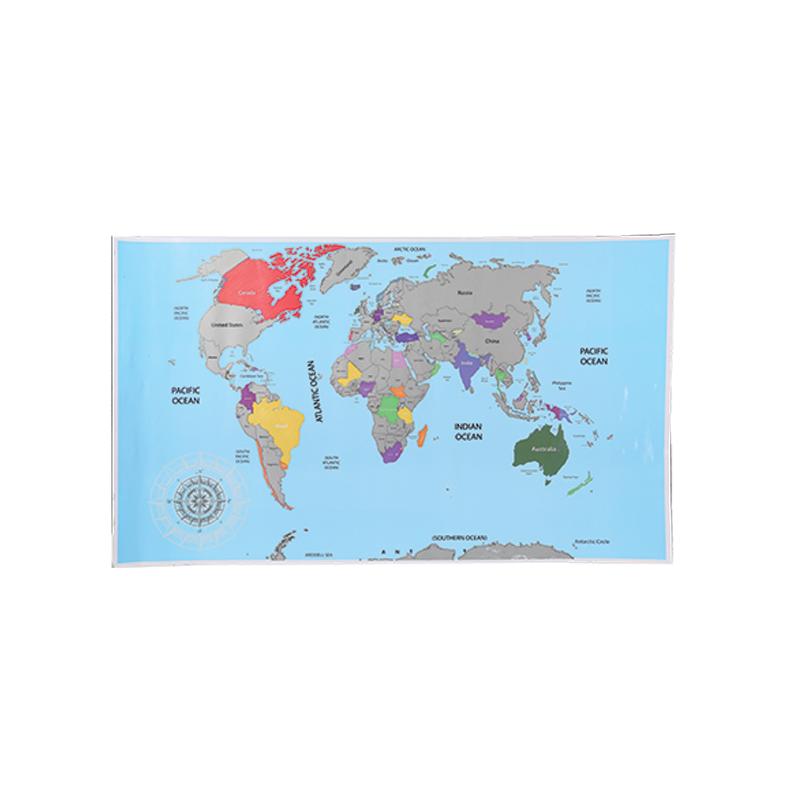 OOTB Scratch Map