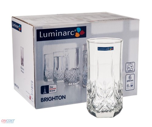 Luminarc Brighton Glass - Pack of 6