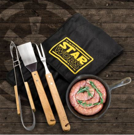 Star Wors 3pc Braai Set - May the sauce be with you!