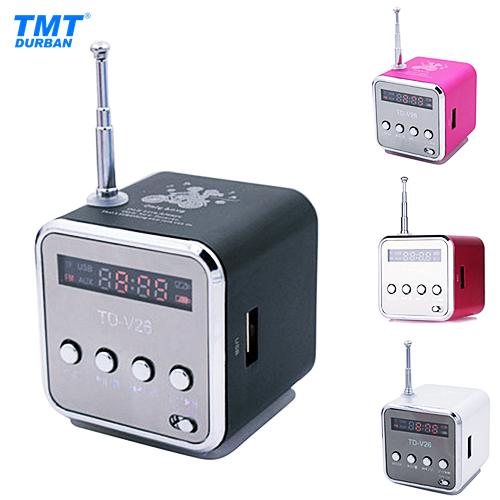 TD-V26 Mini Digital Speaker 4 Colours Available