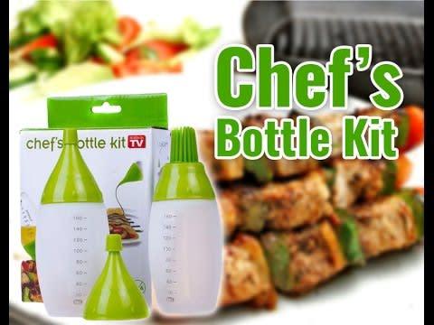 Chefs Basting Bottle Kit