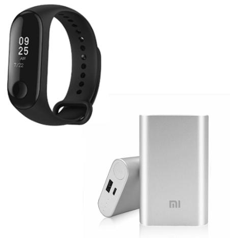 Xiaomi Bundle Deal - Mi Band 3 + 10000mAh Powerbank