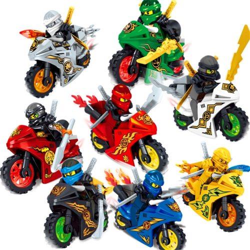 Ninja Movie Motor Series - Building Blocks