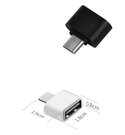USB Female to Micro OTG Adapter