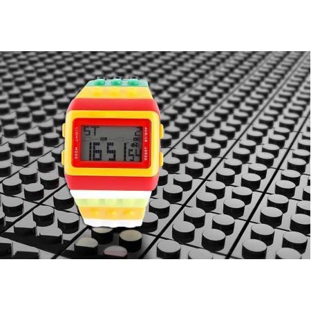 Digital Building-Block Watch