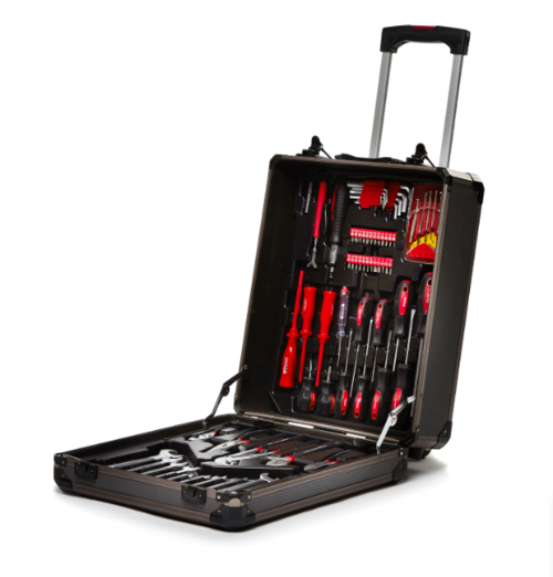 La Fermeté 488 Piece Combination Wrench Tool Box Set With Alum Trolley Case
