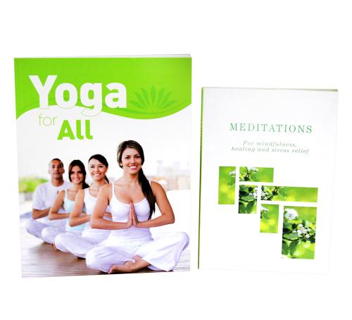 Yoga & Meditation for All Book Bundle