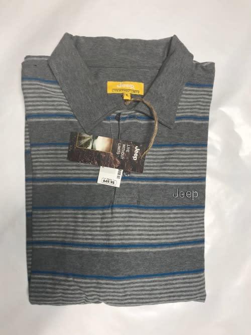 Original Jeep Striped Golf T-Shirt
