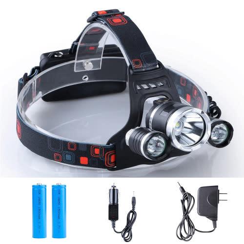 LED Headlight With Flashlight