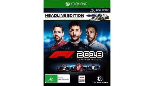 F1 2018 Headline Edition (PS4 & Xbox One)