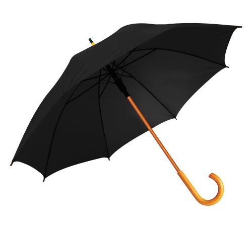 Umbrella with J handle-Black