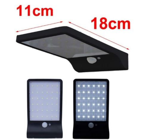 42 LED Outdoor Solar Sensor Light Garden