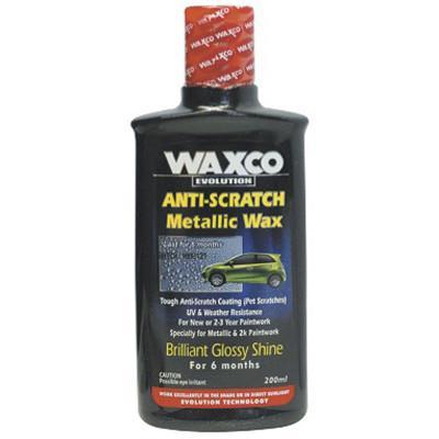 Anti Scratch Metallic Wax