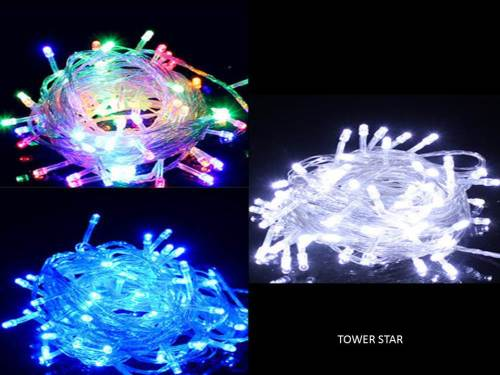 10 m Christmas or Halloween Fairy Lights - Colour or White