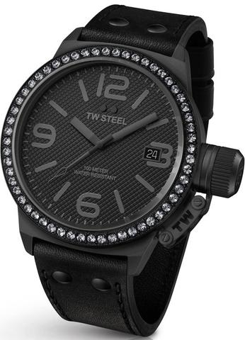 TW Steel Canteen Swarovski Crystal Watch