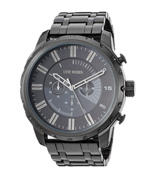 Steve Madden SMW126 Men's Stainless Steel Watch