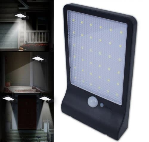 42 LED 20W Outdoor Solar Sensor Light