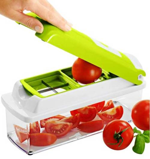 Genius Nicer Dicer Plus Multichopper Vegetable Cutter