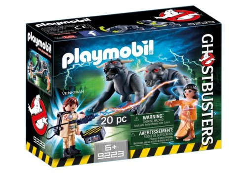Playmobil Ghostbusters Venkman and Terror Dog