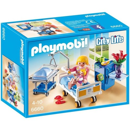 Playmobil Maternity Hospital Room Playset