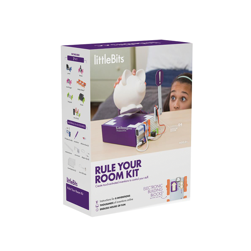 Award Winner Little Bits Rule Your Room Kit