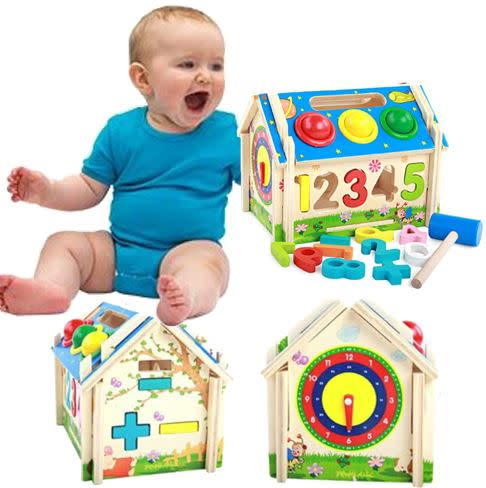 Wooden Multi-functional Educational Toy