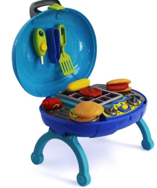 Barbecue Play Set Mini BBQ - Kids Pretend Play