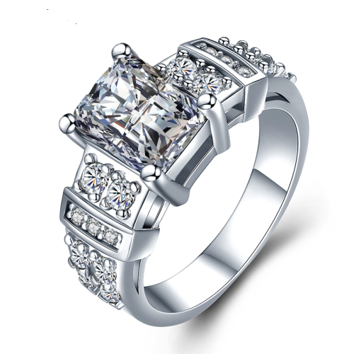 Classy Stylish Epitome Of Beauty Simulated Diamond Ring
