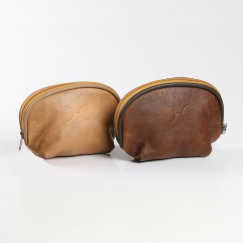 Genuine Leather Make Up Bag