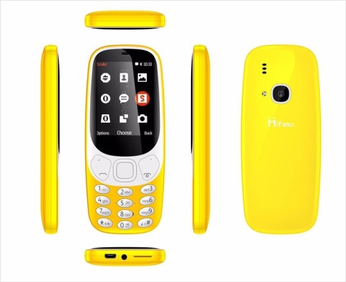 Soloking 3310 Phone (Yellow)