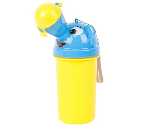 Portable Toddlers Training Urinal (Yellow)