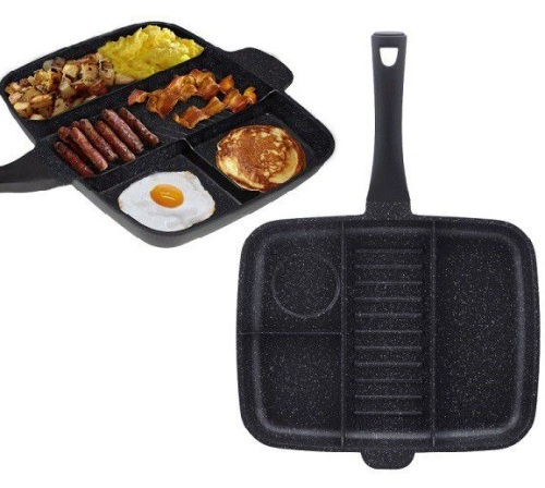 4-in-1 Grill & Fry Pan