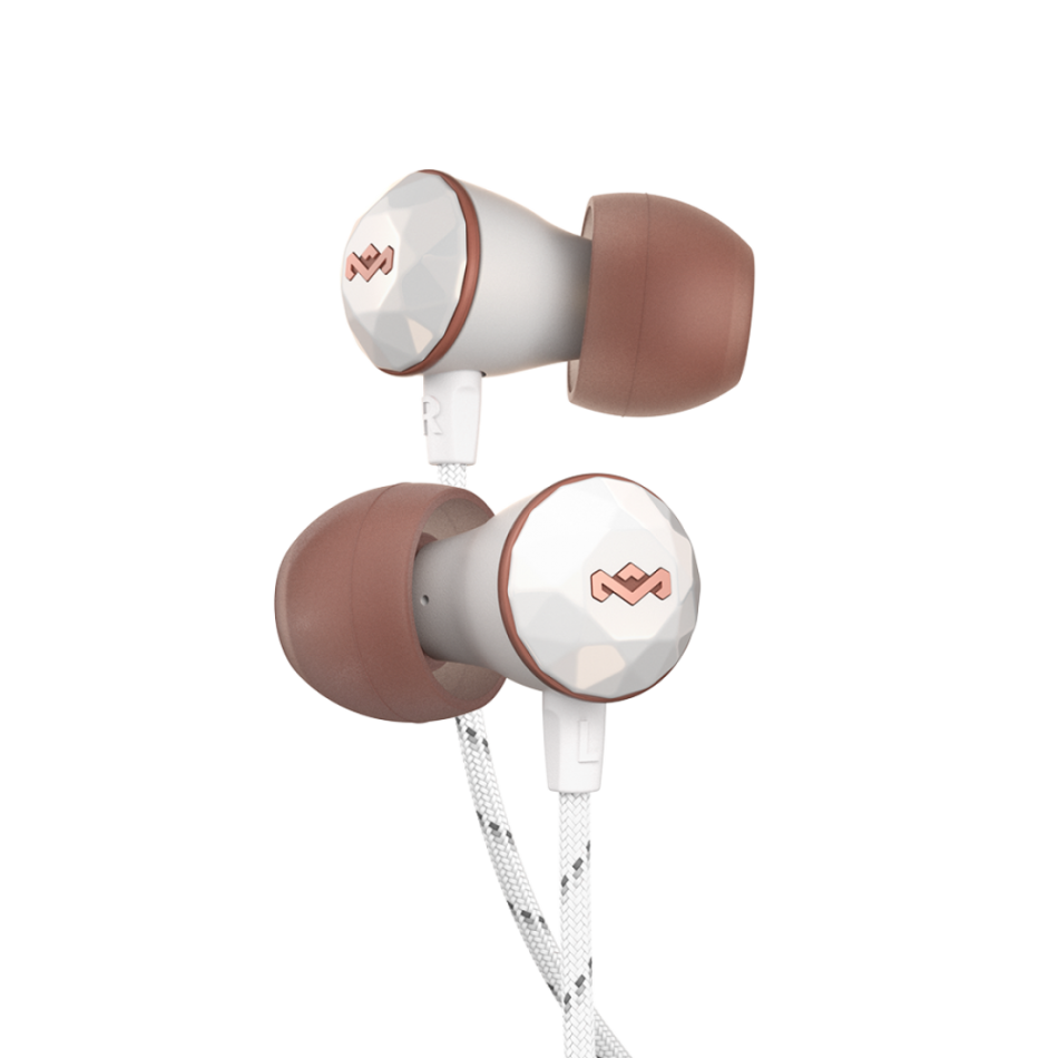 House of Marley Nesta In-Ear Headphones Rose Gold