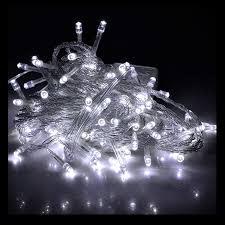 20m Cool White LED Christmas Fairy Lights