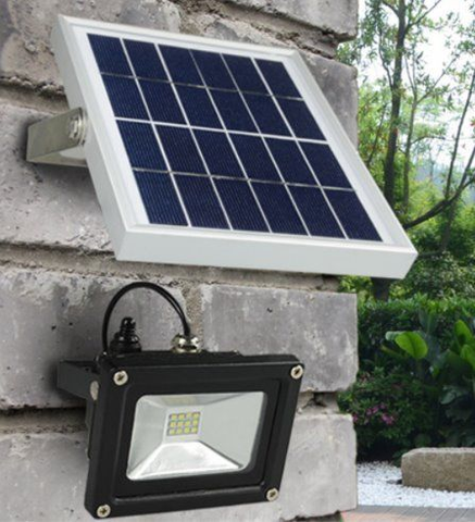 25 Watts LED Solar Floodlight