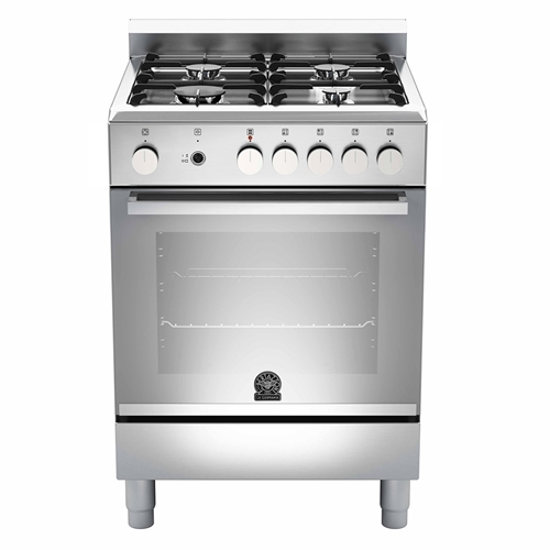 La Germania Europa 60cm Stainless Steel Gas Hob Electric Oven