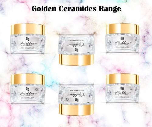 Golden Ceramides Range - Day Cream, Night Cream & Colloidal Mask