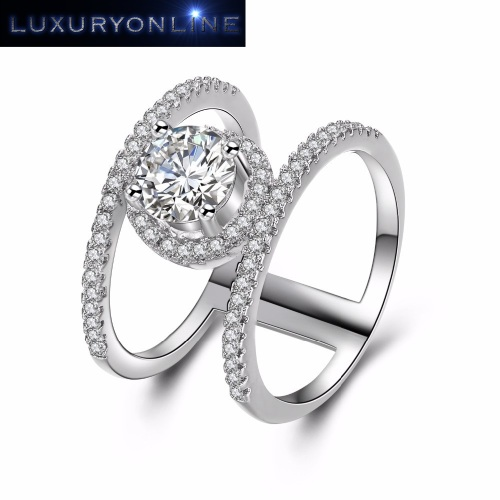 Hand Crafted 1,75ct Simulated Diamond Ring